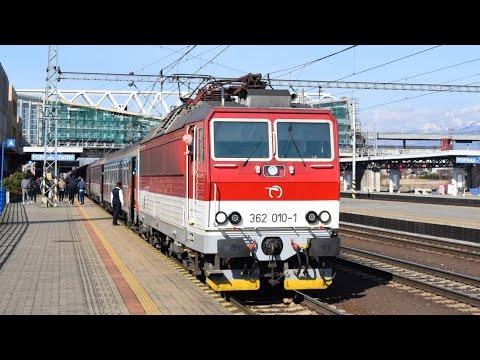Vlaky Poprad-Tatry, 25.03.2017