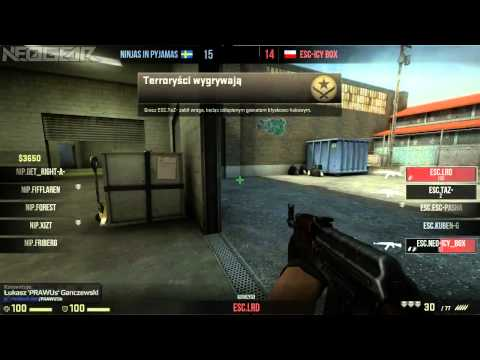 ESEA Invite ESC vs NiP 24-06-2013