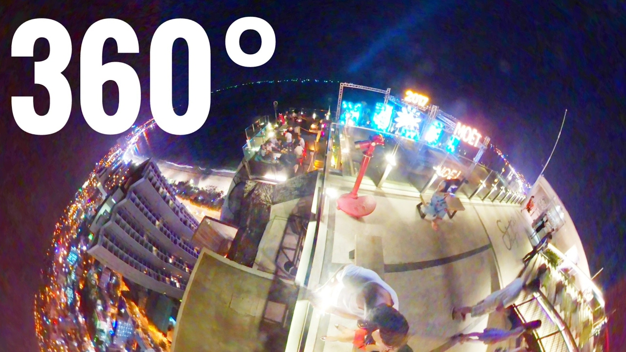 Rooftop party bar 360° at Beach Vietnam VR - Samsung Gear 360