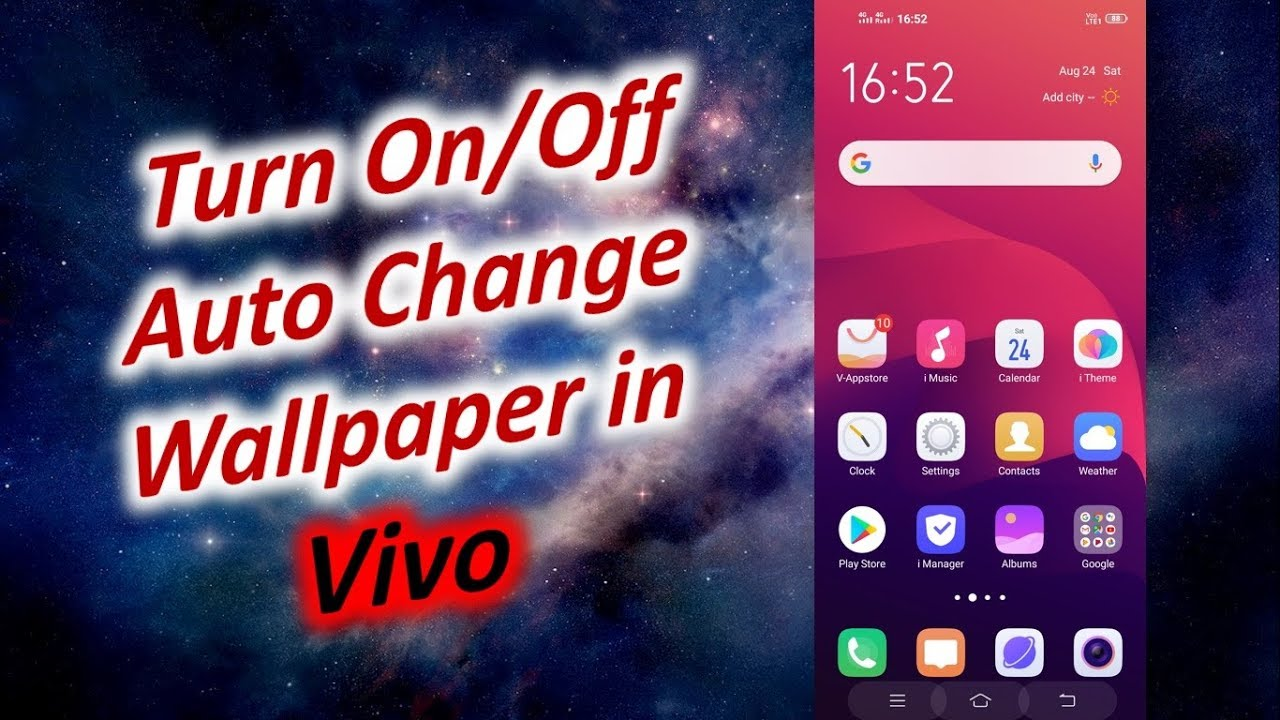 Off Auto Change Wallpaper in Vivo ...