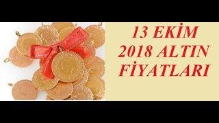13 10 2018 Altın Fiyatları Dolar Fiyatları Euro Ne Kadar Sterlin Kaç Li