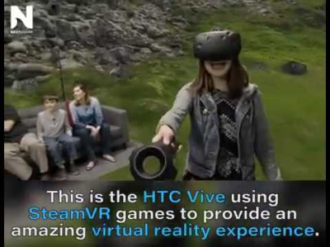 Real life HTC Virtual reality games played