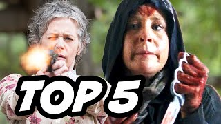 Walking Dead Season 6 Episode 2 - TOP 5 WTF Carol Peletier
