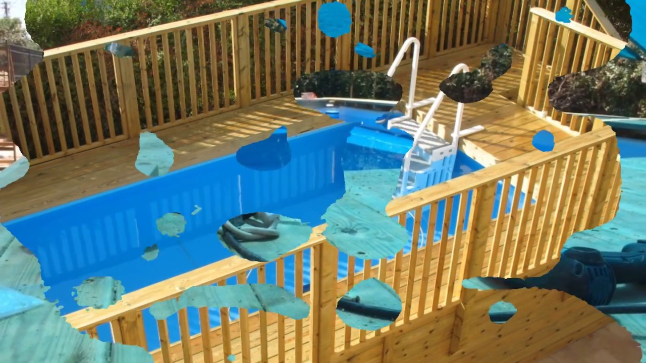 waterboys build a pvc pool with wood youtube. Black Bedroom Furniture Sets. Home Design Ideas