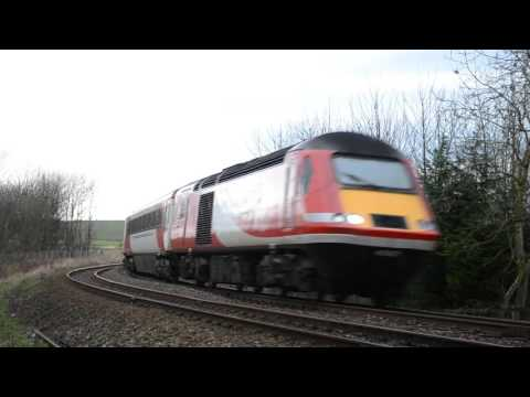 Virgin Trains HST Class 43 at Low Speed