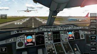 افضل لعبة واقعية لمحاكاه قيادة الطائرات بنفس طريقة القيادة الحقيقية screenshot 1