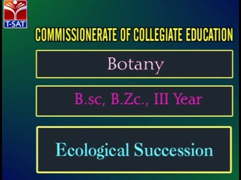 CCE || Botany - Ecological Succession  || LIVE Session  With M. Shubam