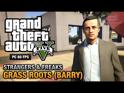 GTA 5 PC - Barry / Grass Roots [100% Gold Medal Walkthrough]