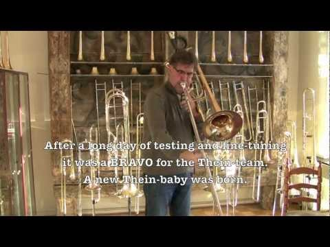 Ben van Dijk testing the NEW THEIN Contrabass Trombone