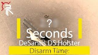 Holster Torture Tests: DeSantis DS Holster