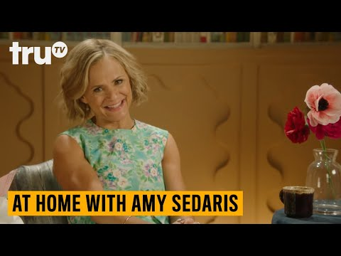 Justin Theroux Is in a Closet, There's a Giant Cat and Guest Stars Galore—This Is At Home With Amy Sedaris Season 2