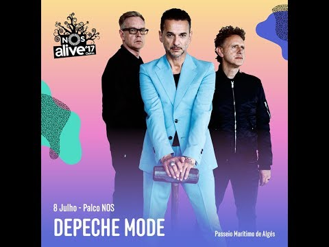 Depeche Mode - Live @ NOS Alive Festival, Lisbon, Portugal 2017 [FULL CONCERT]