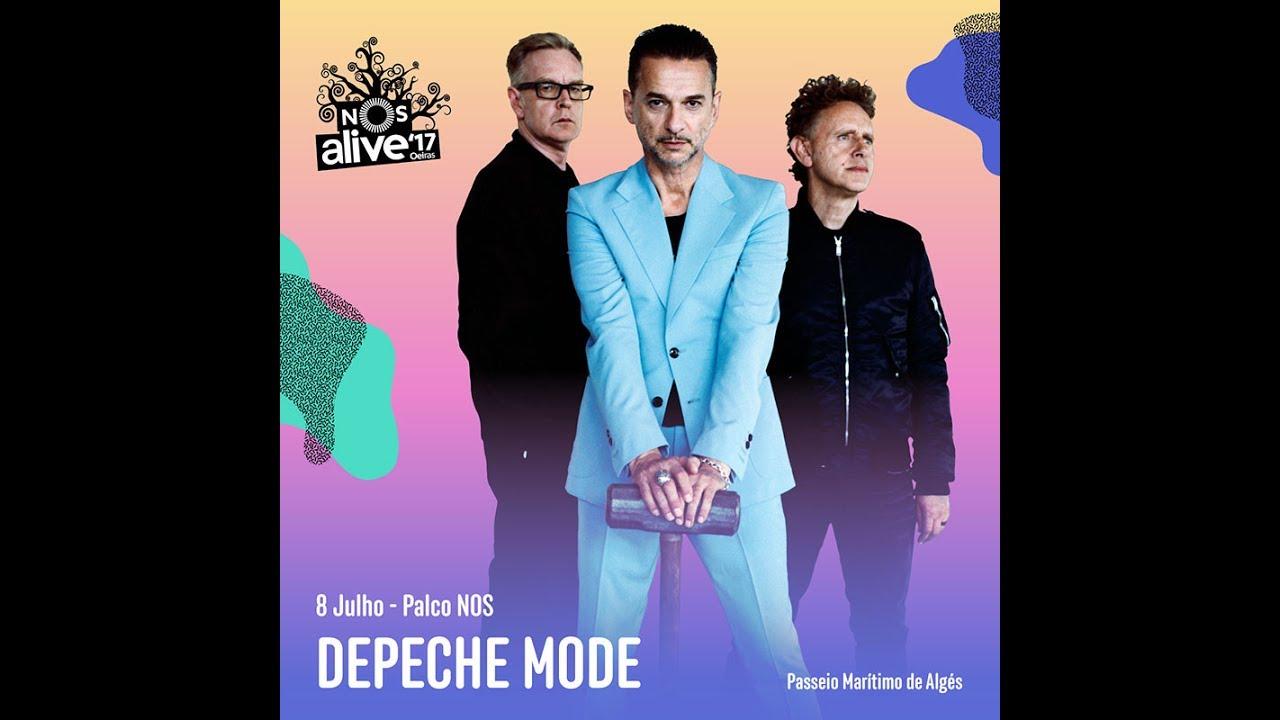 Depeche mode live nos alive festival lisbon 2017 - Depeche mode in your room live 2017 ...