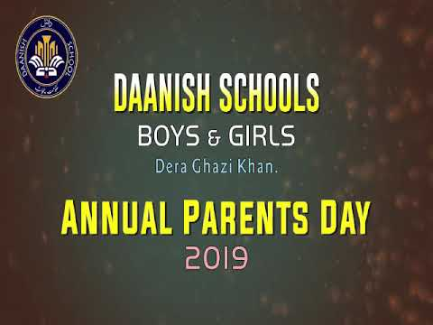 Annual Parents Day in Daanish School Dera Ghazi Khan