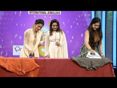 Onnum Onnum Moonu Season 2 I Ep 46 - Chit chat with Aishwarya and Ahana I Mazhavil Manorama