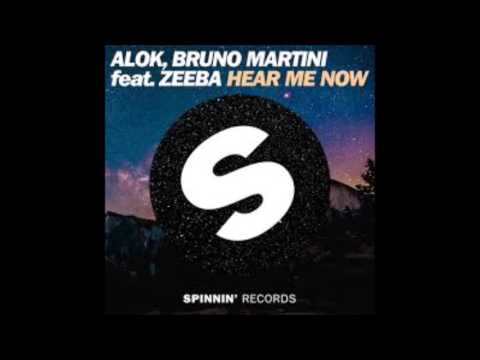 Alok Bruno Martini - Hear Me Now +  da Música