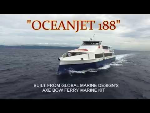 MK16081 32m Axe Bow Ferry