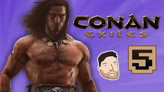 Let's Play Conan Exiles - PART 5: Impenetrable Shelter   Graeme Games