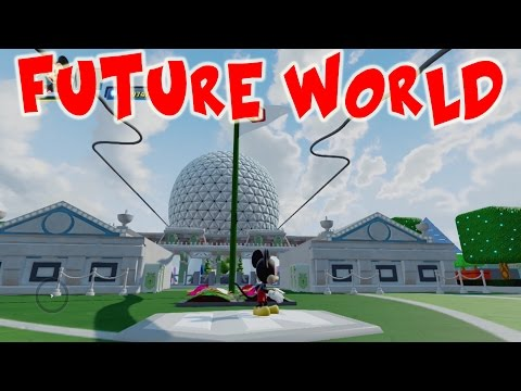 FUTURE WORLD Disney Infinity 3.0 Toy Box