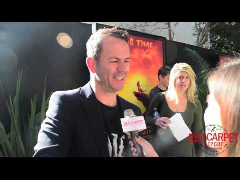 Jonny Rees Voice of Mzingo at Premiere of Disney's The Lion Guard: Return of the Roar #TheLionGuard