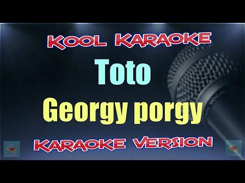 Toto - Georgy Porgy (Karaoke Version) VT