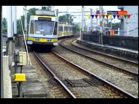 LRT 1g, arriving at Vito Cruz Station
