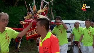 乌敏岛佛山亭大伯公庙 重建后首场庆典 吸引至少600人参加