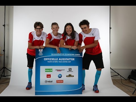 Einkleidung - Youth Olympic Team Austria - EYOF Györ 2017