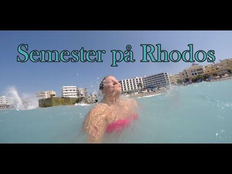 Semester på Rhodos - vlogg