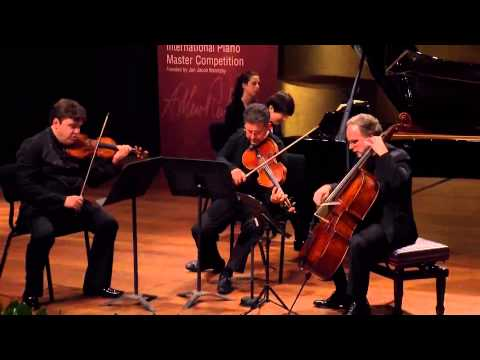 Seong-Jin Cho at the Finals A stage of the Rubinstein 2014 competition