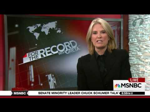 "Greta Van Susteren Welcomed to MSNBC - ""For the Record"" End of Show Comments"