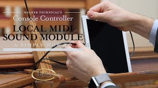 The Walker console controller can be controlled over MIDI. To view ...