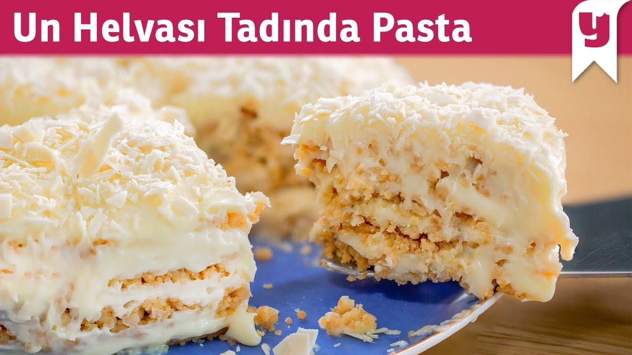 Bildiğiniz Tüm Pastaları Unutturur! Un Helvası Tadında Pasta Tarifi - Fırın Kullanmak Yok ✅