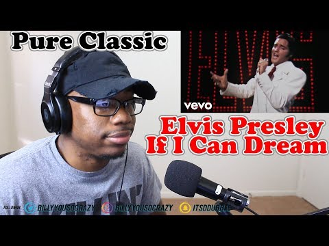 Elvis Presley - If I Can Dream REACTION! I SEE WHY HE WAS THE KING