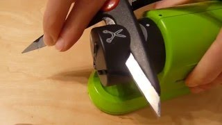SilverCrest Electric all purpose sharpener for knives, scissors and screwdrivers