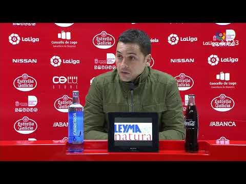 Rueda de prensa de Francisco Rodríguez tras el CD Lugo vs Lorca FC (1-1)