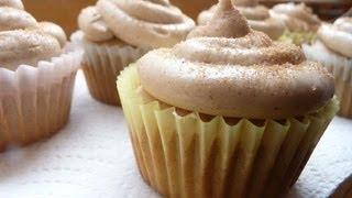 Snickerdoodle Cupcakes- Di's Sweet Treats