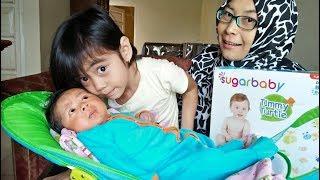 Senangnya Adik Bayi Raffa di Mandiin Yaya Menggunakan Deluxe Baby Bather