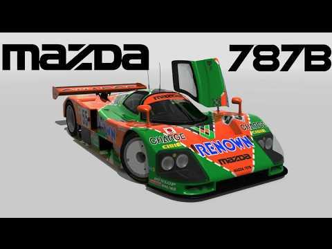 Assetto Corsa - Mazda 787B @  Estoril