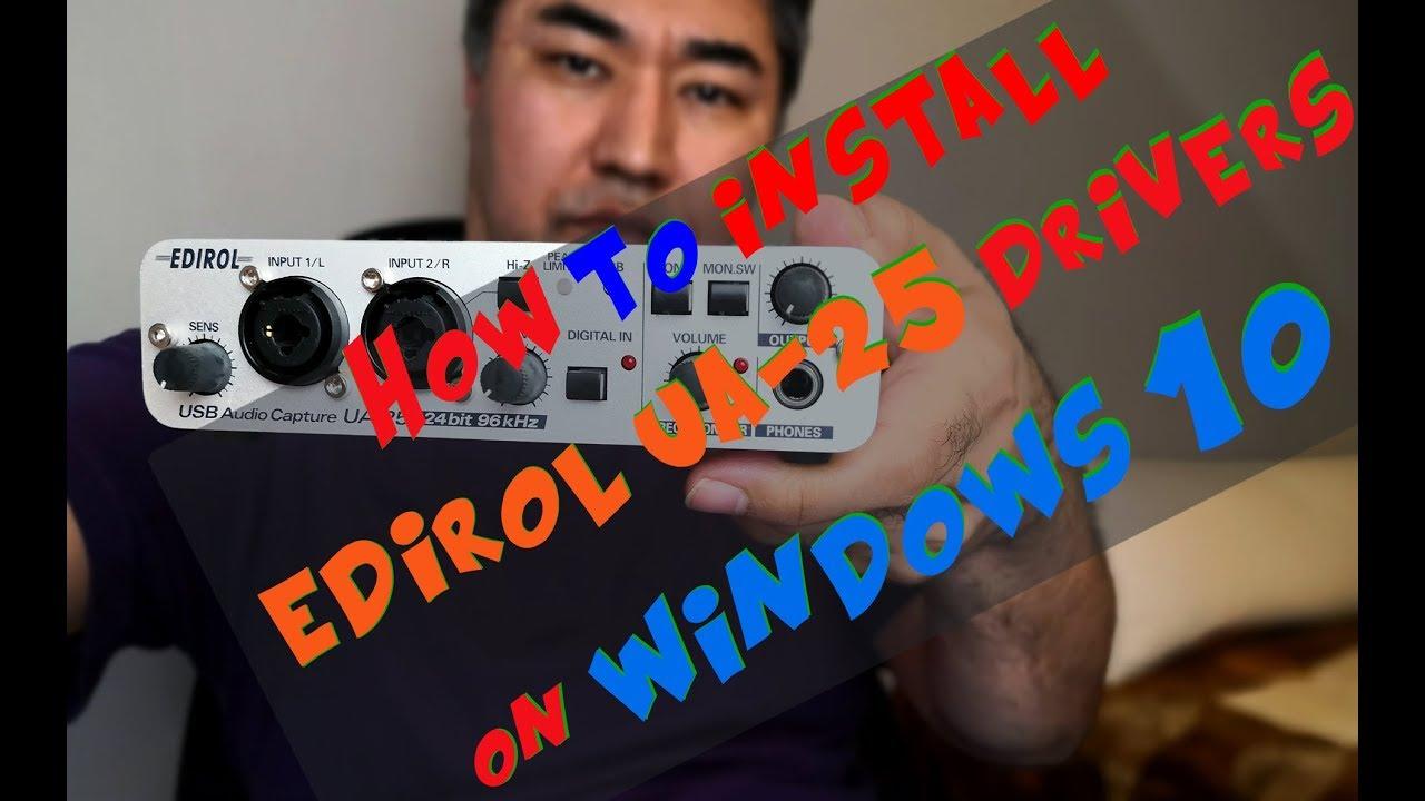 Edirol ua-1a audio driver for mac high sierra update