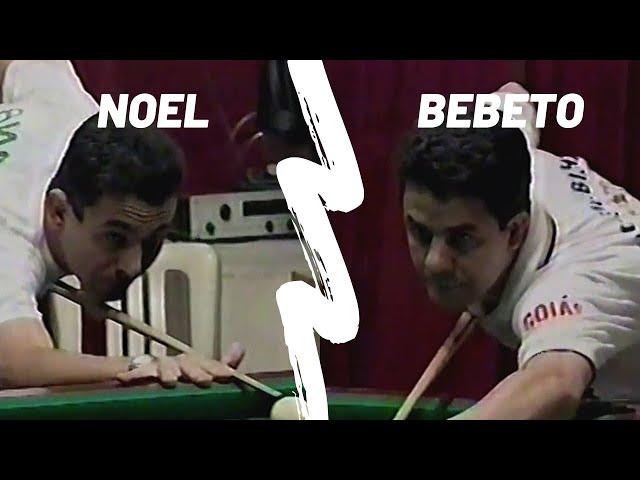 Noel - PR x Bebeto - GO   Sinuca Regra Inglesa 1997
