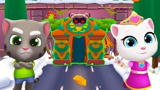 Talking Tom Gold Run - TALKING TOM in LOST CITY WORLD Gameplay Review #2