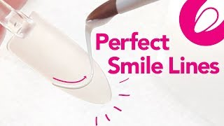 Quick Nail Tips: Perfect Gel Smile Lines With A String Technique