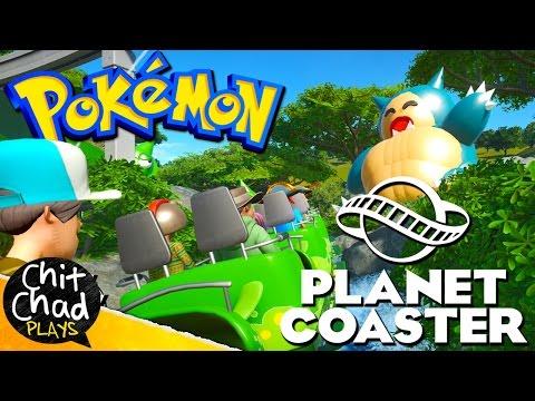 PokéPark: Video Game Park | Planet Coaster |