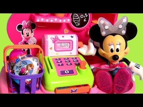 Confeitaria e Doceria da Minnie Mouse do Desenho Disney A Loja de Laços da Minnie Candy Shop