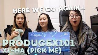 "REACTION   PRODUCE X 101 (프로듀스 X 101) ""_지마 (X1-MA)"""