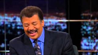 Bill Maher & Neil deGrasse Tyson making fun of each other 11 01 2013
