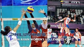 Philippines vs Iran Volleyball Highlights, Scores and Statistics - AVC Cup 2018