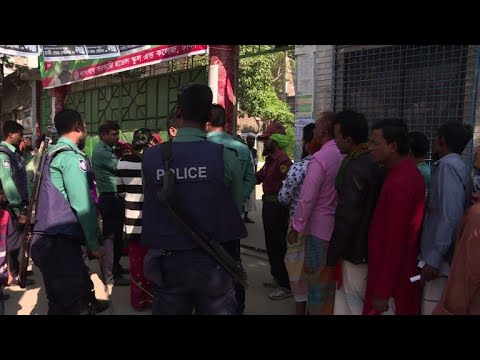 Reports of violence as Bangladesh votes in general election