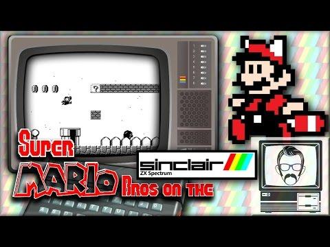 "Super ""FRUSTRATION"" Bros ZX Spectrum [Quick Play] | Nostalgia Nerd"